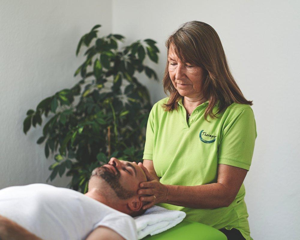 Cranio Sacrale Entspannung bei Therapy4U in Kempten (Allgäu), Durach & Füssen