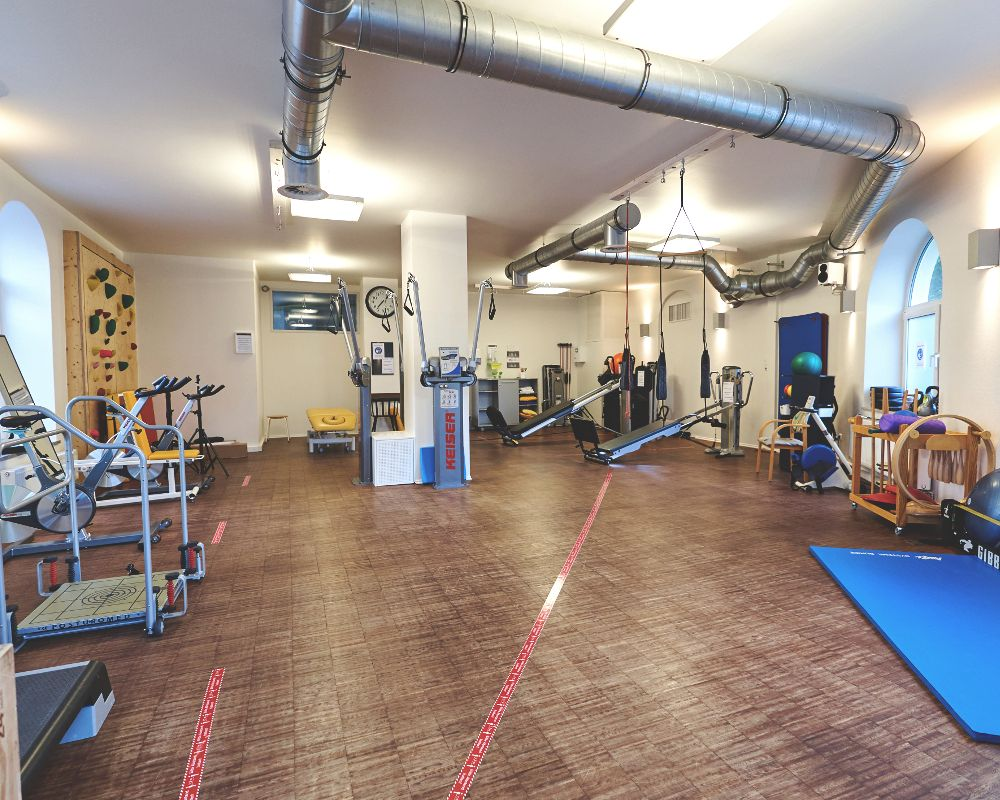 Trainingsraum von Therapy4U in Kempten - Praxis für Physiotherapie & Ergotherapie