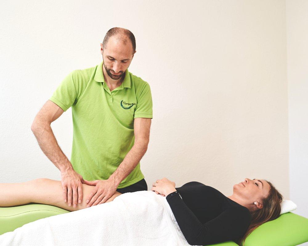 Manuelle Lymphdrainage bei Therapy4U in Kempten (Allgäu), Durach & Füssen