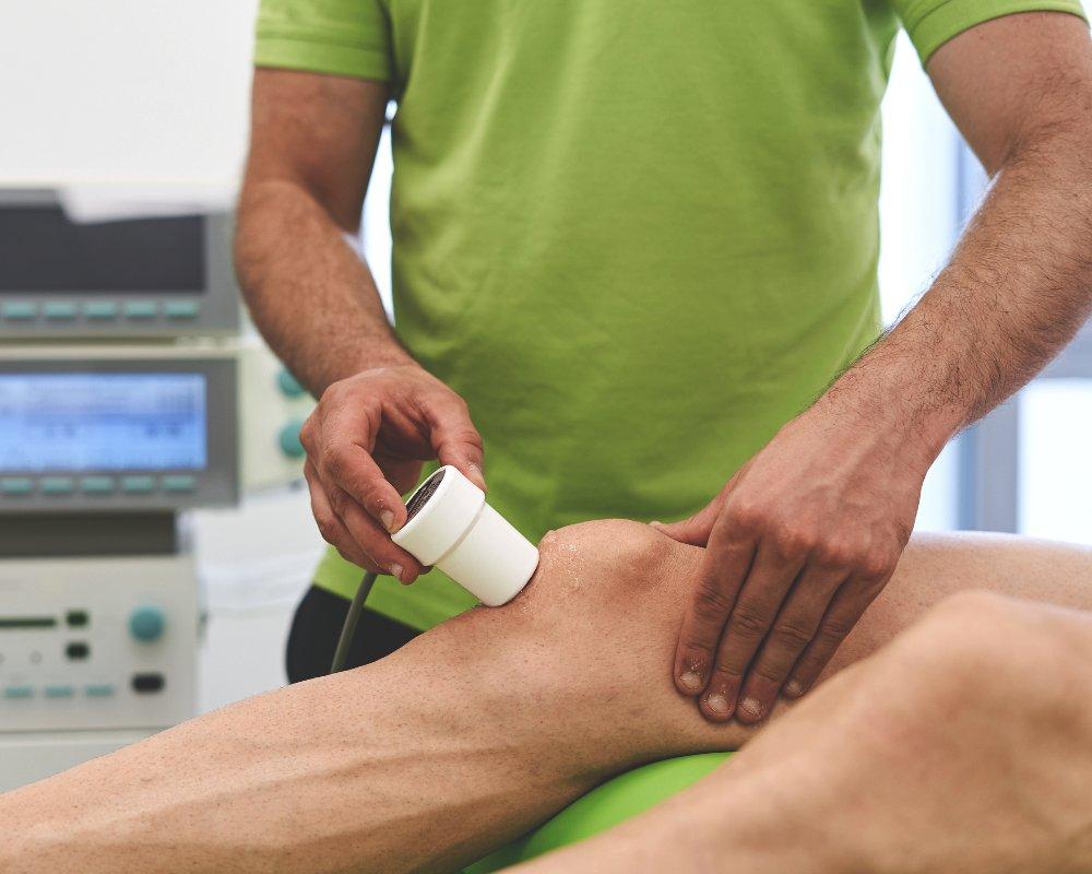 Ultraschalltherapie bei Therapy4U in Kempten (Allgäu), Durach & Füssen